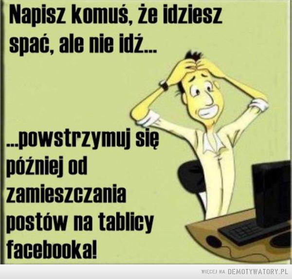 Problemy pokolenia facebooka –